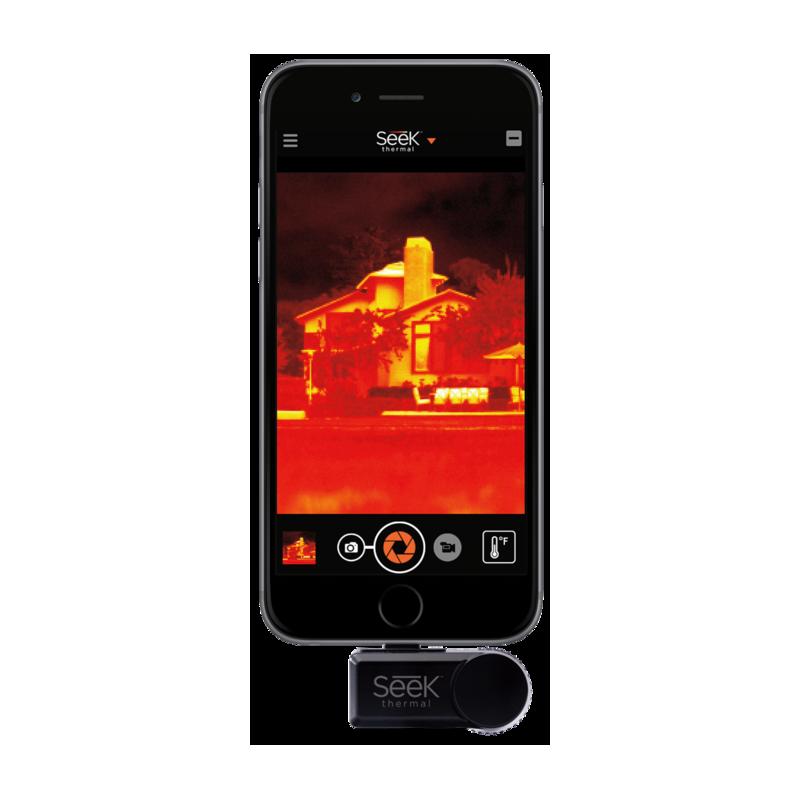 Seek Thermal Camera >> Seek Thermal - COMPACT Thermal Imager (Android) - DECK912 ...